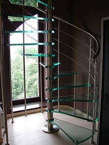Лестницы из стекла, фото 2