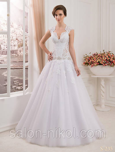 Свадебное платье S-235