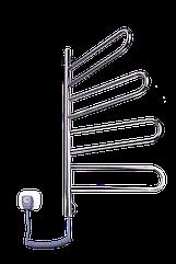 Электрич.полотенцесушитель Флюгер-4 (900*460*40) 103 Вт нержавейка поворотный