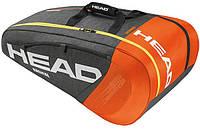 Функциональная мужская сумка-чехол на 12 ракеток  283185 Radical 9R Supercombi HEAD