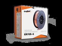 Сварочная проволока ER70S-6 омедненная  d 0.8мм 2,5 кг