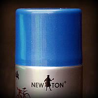 Эмаль универсальная с эффектом металик NEW TON синяя