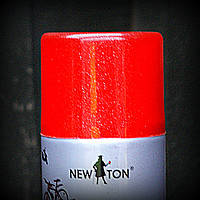 Эмаль универсальная с эффектом металик NEW TON красная