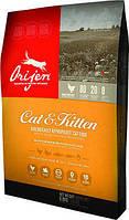 Orijen cat & kitten беззерновой  корм для  котов и котят  с мясом цыплят 6.8кг