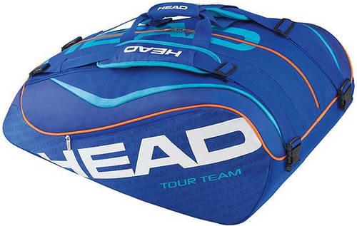 Надежная мужская теннисная сумка на 12 ракеток 283205 Tour Team 12R Monstercombi  BKBK HEAD