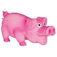 """Trixie TX-35190 Игрушка для собак """"Свинка со щетиной"""", 10см"""