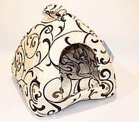 Collar Будиночок «Піраміда» для собак і кішок (38х38х38) (1739)