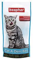 Beaphar Cat-A-Dent Bits 35г- подушечки для чистки зубов кошек (11406)