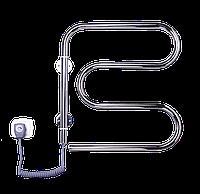 Электрич.полотенцесушитель Змейка-М поворотная (570*500*40) 55 Вт нержавейка