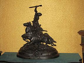 Скульптура Джигітовка лезгін 1912 рік Е. А. Лансере