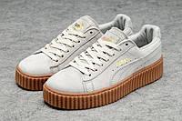 Женские кроссовки Puma Rihanna (пума рианна, пума риханна) белые