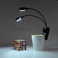 Светодиодная подсветка 4  LED на прищепке