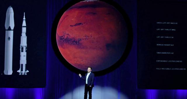 Елон Маск за колонізацію Марса