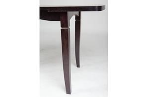 Стол кухонный деревянный Леон Микс мебель, цвет венге, фото 2