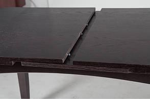 Стол кухонный деревянный Леон Микс мебель, цвет венге, фото 3