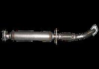 Глушитель труба приемная+резонатор Chery Kimo