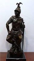 Скульптура Римский воин  нач.ХХ-века автор  B C Zheng