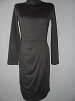 """Женское платье """"Злата"""" темно-серое"""