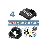 Комплект ГБО 4.STAG-4 Q-BOX,форсунки STAG