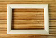 Деревянная рамка 20x20 см (липа скругленный 18 мм), фото 1