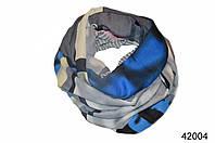 Снуд из вискозы Техно синий, фото 1