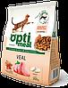 Optimeal (Оптимил) сухой корм для взрослых кошек С телятиной 11 кг