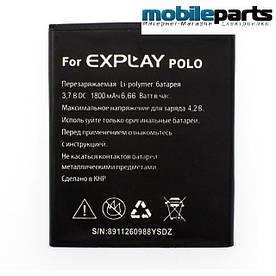 Оригинальный аккумулятор АКБ для Explay Polo 1800mAh 3,7V