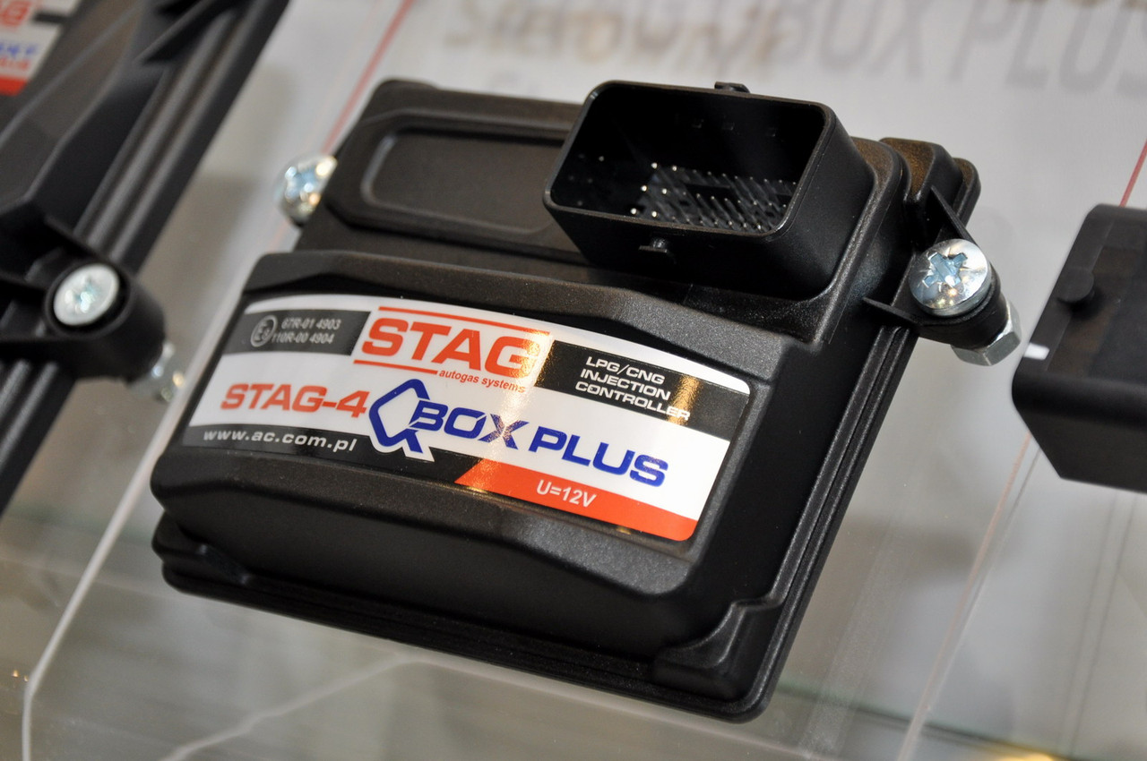 Комплект ГБО 4.STAG-4 Q-BOX PLUS OBD(Barracuda/Hana)