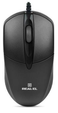 Мышка REAL-EL RM-211 USB #100377