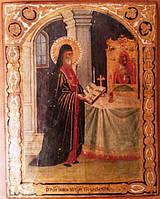 Икона Святой Иов, игумен Почаевский 19 век