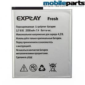 Оригинальный аккумулятор АКБ для Explay Fresh 2000mAh 3,7V