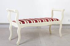 Лавка Джокер без спинки Микс мебель, цвет белый, фото 3