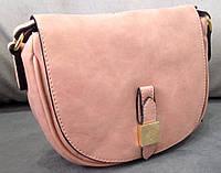 Сумка клатч через плечо Mulberry цвет розовый, фото 1