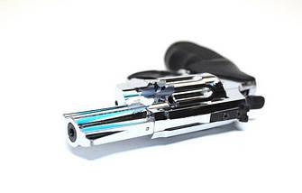"""Под патрон Флобера. Револьвер Trooper 2.5"""" сталь хром пласт/чёрн. Флобер. Револьверы, пневматическое оружие, фото 3"""
