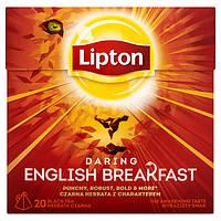 """Чай черный  Lipton """"English breakfast"""", 20шт"""