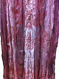 Шарф палантин цвет коричневый с рисунком, фото 2