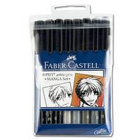 "Набір капілярних ручок PITT Brush, ""Manga"""