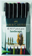 "Набір капілярних ручок PITT Brush, ""Пейзаж"""