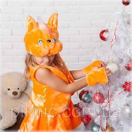 Костюм Белочка Белка для девочки 3,4,5,6,7 лет. Детский карнавальный новогодний костюм, фото 2