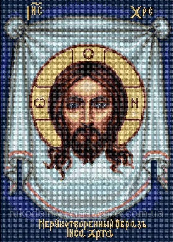 """Набор для вышивания гобелена """"Luca-S"""" G420 Нерукотворный образ Иисуса Христа"""