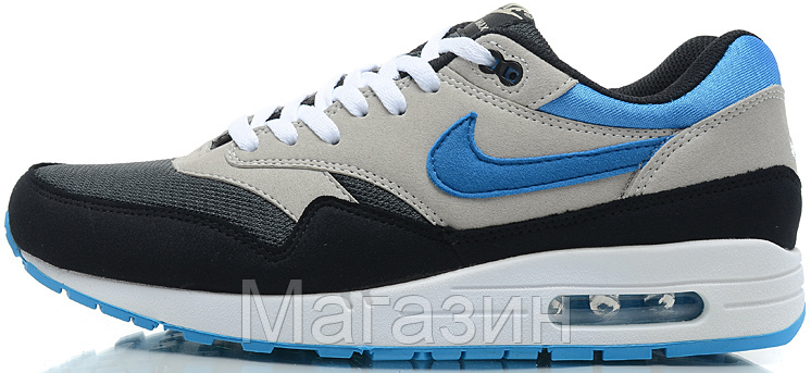 Мужские кроссовки Nike Air Max 87 Найк Аир Макс 87 серые