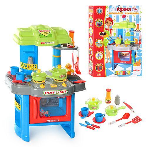Детский игровой набор Кухня 008-26 A звук, свет