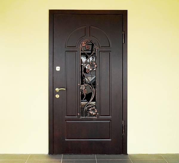 Двери входные с ковкой бесплатная доставка 86х205