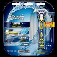 Станок для гоління Wilkinson Sword (Schick) HYDRO 5 Groomer + 4 змінні леза