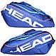 Синяя теннисная сумка-чехол на 9 ракеток  283215 Tour Team 9R Supercombi  BLBL HEAD , фото 3