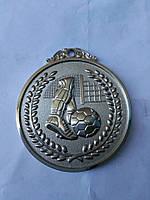 Медаль HB037 silver с лентой