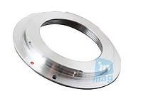 Переходное кольцо M42 - Canon, silver.