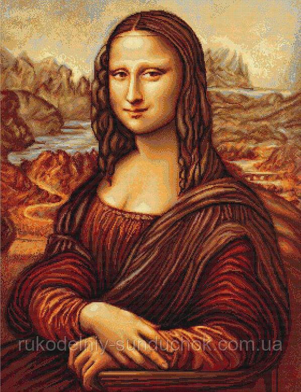 """Набор для вышивания гобелена """"Luca-S"""" G416 Мона Лиза"""