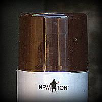 Эмаль для стальных и оцинкованных поверхностей New Ton темно коричневая RAL 8017