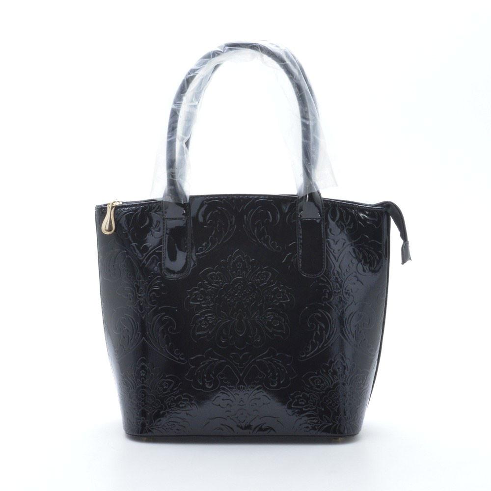 37b15271744f Модная оригинальная лаковая сумка , черная: продажа, цена в ...